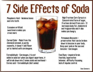 The 7 Side Effects Of Soda - only 7?! from author Michelle Booth's blog